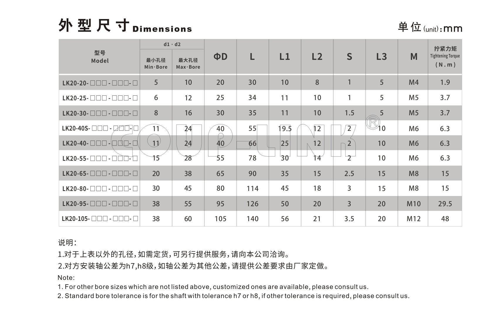 LK20系列(经济型) 定位螺丝固定型梅花联轴器_联轴器种类-广州菱科自动化设备有限公司