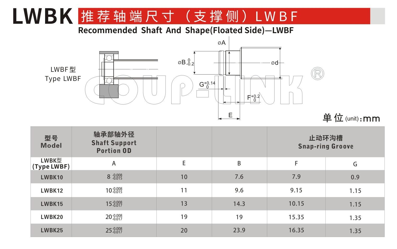 LWBK 固定侧_联轴器种类-广州菱科自动化设备有限公司