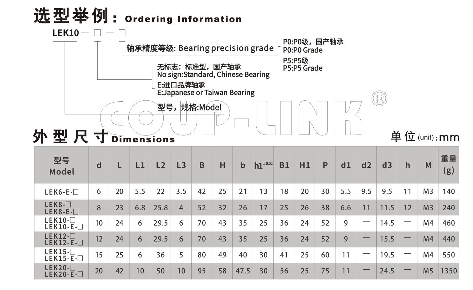 LEK 固定侧_联轴器种类-广州菱科自动化设备有限公司