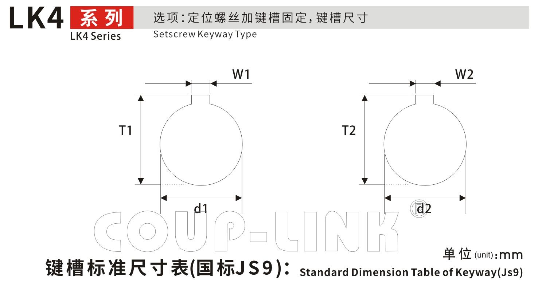 LK4系列 定位螺丝固定式(十字滑块联轴器)_联轴器种类-广州菱科自动化设备有限公司