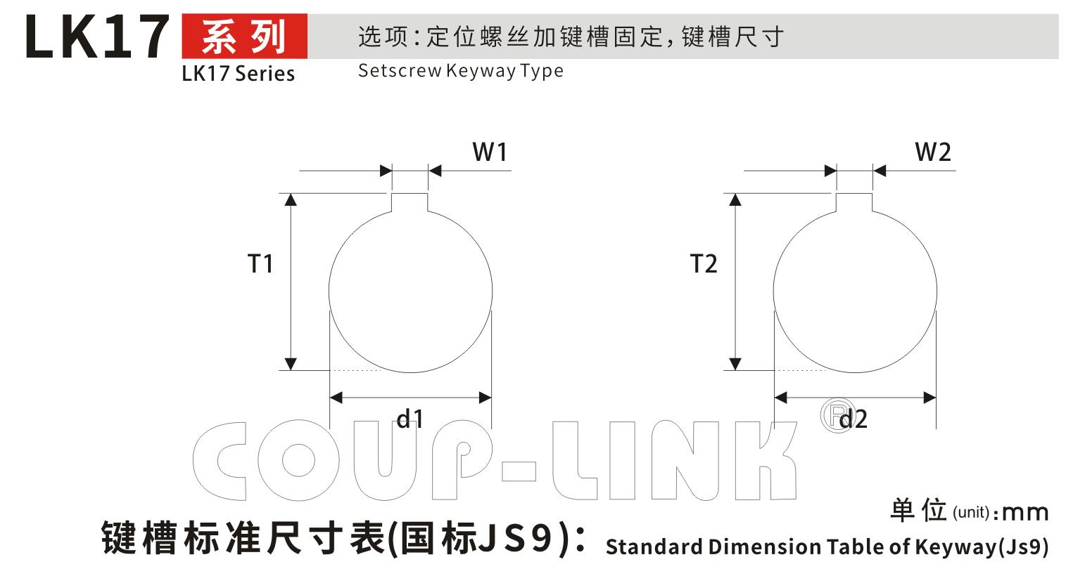 定位螺丝固定型梅花bat365app手机版下载LK17系列-bat365app手机版下载厂家