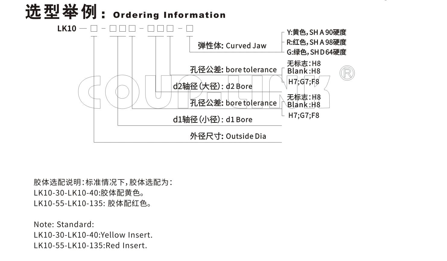 LK10系列 梅花弹性体胀套联轴器_联轴器种类-广州菱科自动化设备有限公司